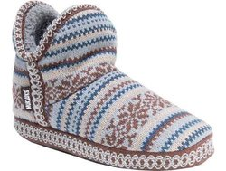 Muk Luks Women's Amira Booties - Brown - Size: Large