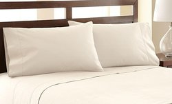 Wexley Home 6 Piece 1200 Thread Count Sheet Set - Ivory - Size: King