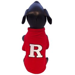 NCAA Rutgers Scarlet Knights Cotton Lycra Dog Tank Top, XX-Small