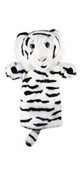 The Puppet Company - Long Sleeves - White Tiger Hand Puppet [Toy]