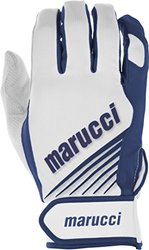 Marucci Adult Pro Lite Batting Gloves (Pair), Navy/Blue, Medium