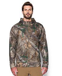 Under Armour Men's Storm Icon Camo Full Zip Hoodie, Realtree Ap-Xtra (946), XX-Large