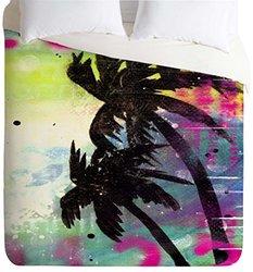Sophia Buddenhagen Oasis Lightweight Duvet Cover - Multi - Size: King