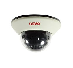 Revo Security Cams 1200 TVL Indoor Dome Surveillance Camera - White