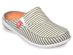 Women's Spenco Siesta Slide Montauk Shoes - Khaki - Size: 9