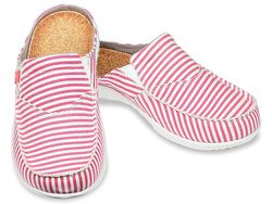 Spenco Women's Siesta Slide Montauk Shoes - Red - Size: 8