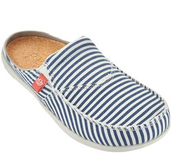Spenco Women's Spenco Siesta Slide Montauk Shoes - Navy - Size: 7