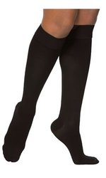 Sigvaris Access 973CSLW99 30-40 mmHg Women's Closed Toe Knee Highs, Black, Small and Long