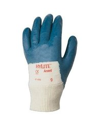 Ansell 7 Hylite Medium Weight Nitrile Coated Pack of 12 - Size: Large