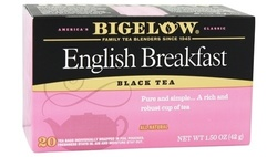Bigelow English Breakfast Black Tea Pack of 6