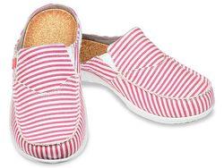 Spenco Women's Siesta Slide Montauk Shoes - Red - Size: 7