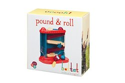 Battat Pound and Roll Toddler Activity Toy