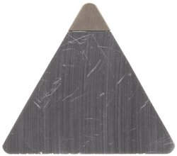 American Carbide Tool Cubic Boron Nitride Tipped Insert, CBN6 Grade, TPG-322 Style, 3/8-Inch IC Size