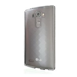 VOIA Transparent Jelly Carrying Case for LG G4 - Smoky
