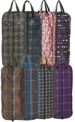 Centaur ER Plaid Bridle Bag - Blue Corn Plaid - Size:One