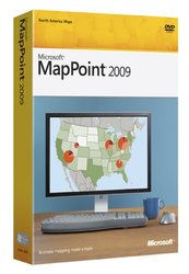 Microsoft MapPoint 2009 for Windows Vista Windows XP (B21-01112)