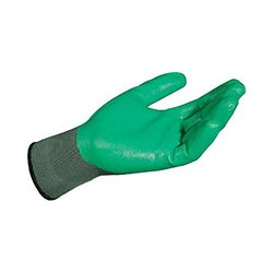 MAPA Ultrane 554 Nitrile Medium Duty Glove - Pair of 10 - Green - Sz: 8
