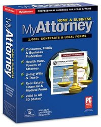 Avanquest MyAttorney Home & Business Software for Windows 8/7/Vista and XP
