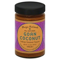 Maya Kaimal Curry Goan Coconut Simmer Sauce -12.5 Oz