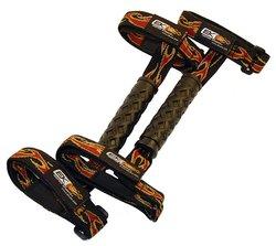 "EK Ekcessories 19023P-W78-AM Roll Bar Grab Handle with ""No Slip Grip"""