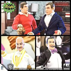 Series 2 Batman Classic TV Series 8-inch Action Figure Toy - 4 Set