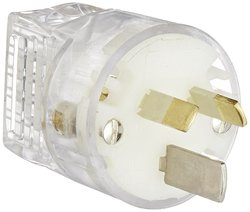 Interpower 15A Rating 250VAC Voltage Australian Hospital Grade Plug