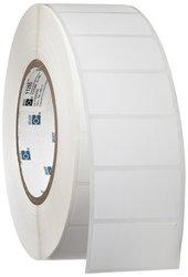 """Brady 1.9"""" W x 1"""" H B-490 Polyester Printer Label - 3000/Roll- White"""