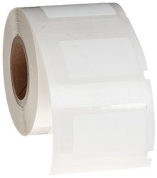 "1.25x0.75"" H Matte Permanent Polyester PermaShield labels -250/Roll -White"