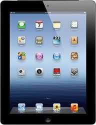 "Apple iPad 3 9.7"" Tablet 32GB Wi-Fi + 4G AT&T - Black (MD417LL/A)"