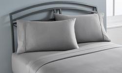 Wexley Home 300TC 100% Cotton Super Soft Sheet Set - Wine - Size: Queen