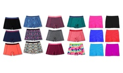 6 Pack Activewear Shorts Mystery Deal: Small