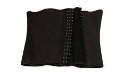 Energym SaunaSlim Women's Waist Cincher 2 Pack - Black - Size: XXL
