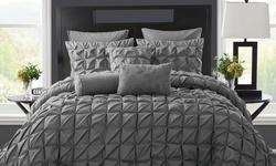 Maison Duvet Cover Set: Twin Xl / Charcoal (2-piece)