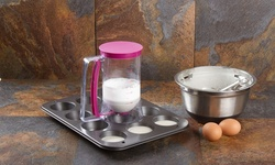 Imperial Home 4 Cup Cupcake Batter Dispenser (NP3160)