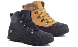Adolfo Men's Ralph Work Boots - Black - Size: 11
