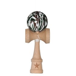 Super Kendama Camo Rubberized Super Sticky Japanese Wooden Toy