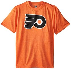 NHL Boys' Philadelphia Flyers Stand Out S/S Tees- Varsity Orange- L(14-16)