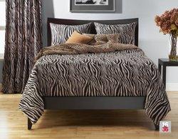 Siscovers Zebra Zen 6-Piece Duvet Set - Size: Full