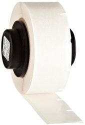 "Brady PTL-7-430 TLS 2200 And TLS PC Link PermaSleeve 0.5"" Height, 0.5"" Width, B-430 Clear Polyester Clear Color BradyBondz Label (500 Per Roll)"