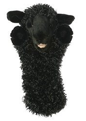 The Puppet Company Sheep Long-Sleeved Glove Puppets - Black