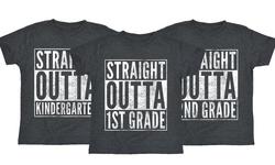 Boys Tee: Straight Outta Kindergarten/small