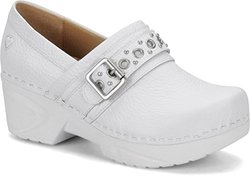 Nurse Mates Chelsea Clogs: White/6