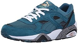 R698 PUMA Fast Graphic Women's Sneakers - Colonial Blue/White - Size: 7