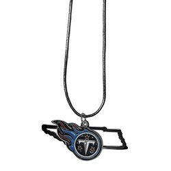 Nfl Charm Necklace: Tennessee Titans