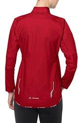 VAUDE Women's Drop III Jacket, Red, 44
