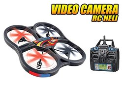 Panther Spy Drone UFO with Video Camera 4.5CH 2.4GHz RC Quadcopter