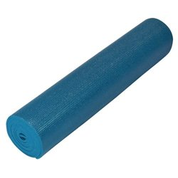 "Yoga Direct Deluxe Yoga Mat - Dark Teal Green - Size: 1/4"""