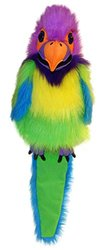 The Puppet Company Birds Plum - Headed Parakeet - Size: Large