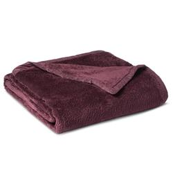 Threshold Fuzzy Blanket - Purple - Size: Full/Queen