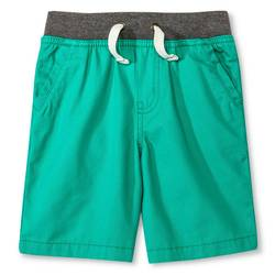 Cherokee Toddler Boys' Chino Short - Tropic Green - Size: 5T